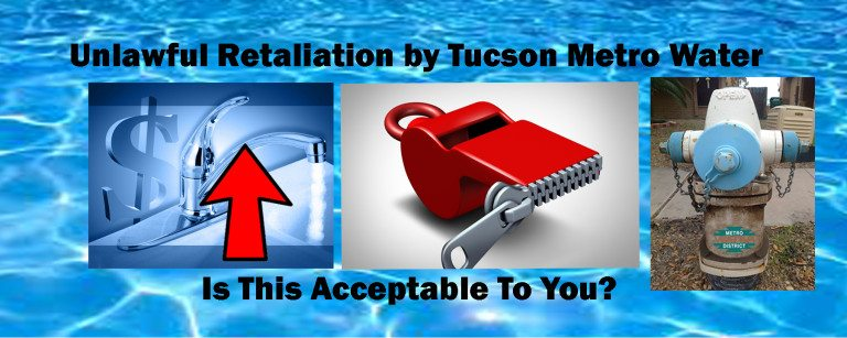 Your Metro Water Tucson Board Facebook  - December 2016