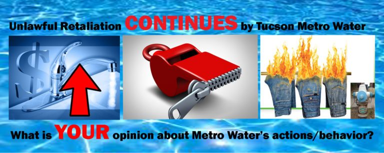 Your Metro Water Tucson Website Post - April 15, 2016