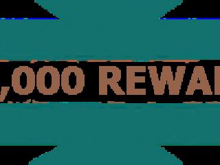 $5000 Reward Metro Water District