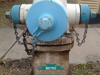 Your Metro Water Tucson Board - Dirty Fire Hydrant
